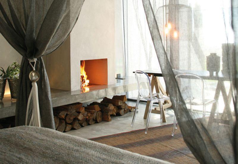 Areias do Seixo - travel_areias_hotel_fireplace