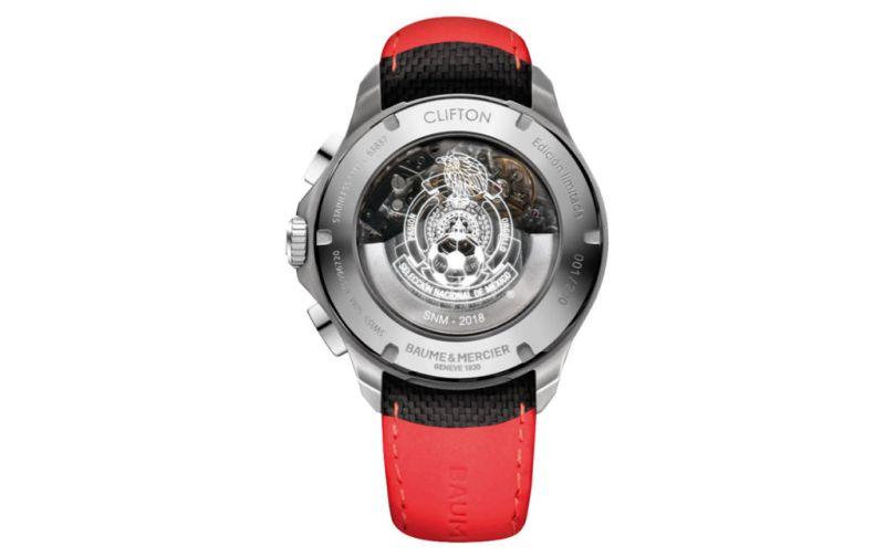 Clifton Club México. Un reloj en honor a la selección mexicana - BAUME-ET-MERCIER-3
