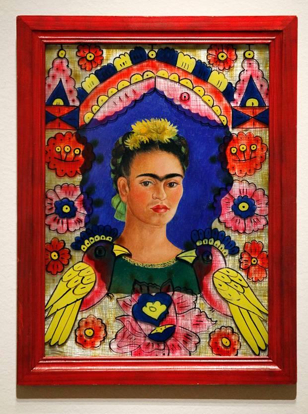 Obras de arte mexicanas en el mundo - el-marco-frida