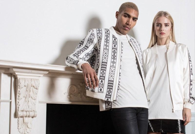 Mohammed Khoja Hindamme - fashion_mohammed_white_pattern_jacket