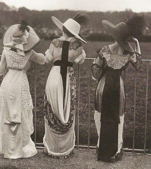 Evolución de la moda a través de los años - moda1910