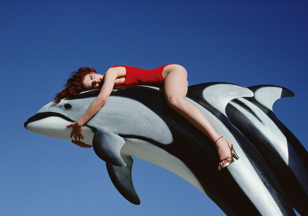 Guy Bourdin, fotógrafo de oportunidades - photography_guy_bourdin_dolphin