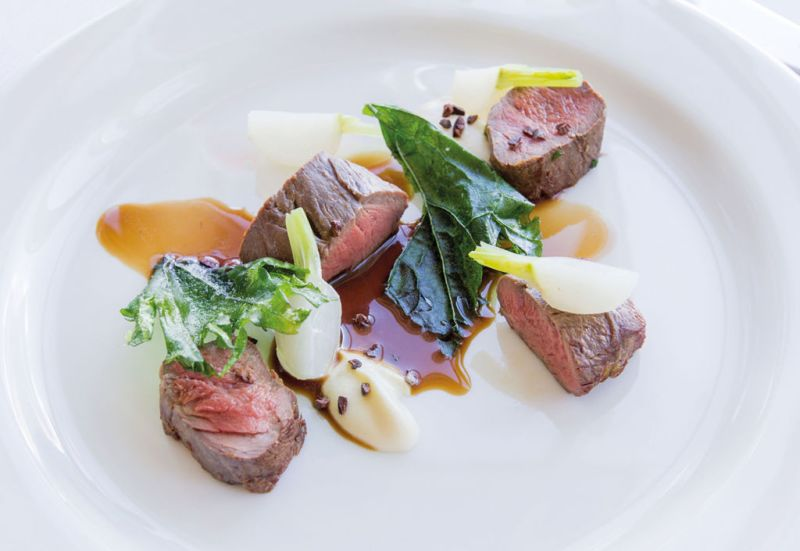 Matakauri Lodge - travel_hotel_food_steak