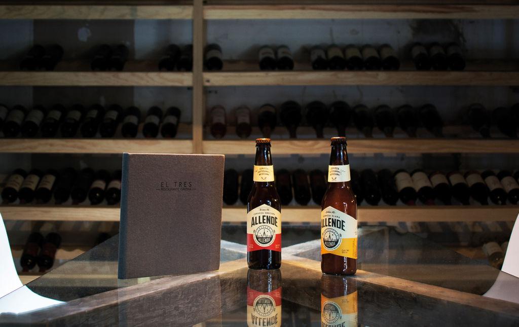 Cervecería Allende - CERVECERÍA ALLENDE-CERVEZAS EN MESA