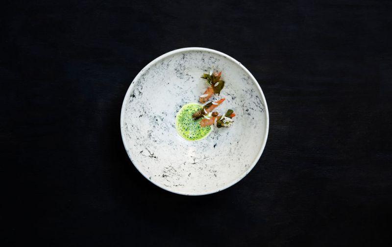 Aska; Suecia y Nueva York en reunión - Shrimp-and-Grilled-Cream