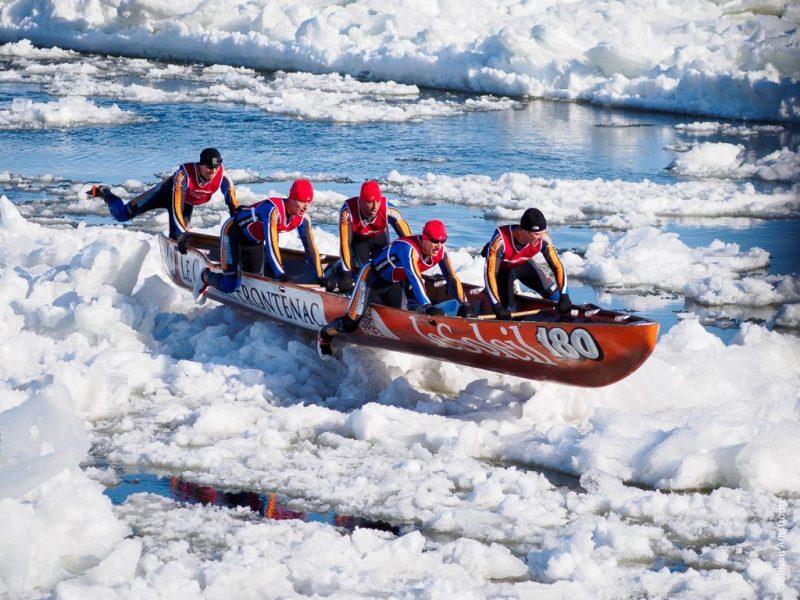 Las actividades extremas más emocionantes para este 2018 - Ice-Canoeing