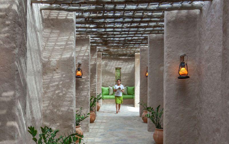 Six Senses Zighy Bay Resort. Lujo y relajación en el sureste de la península arábiga. - entrance