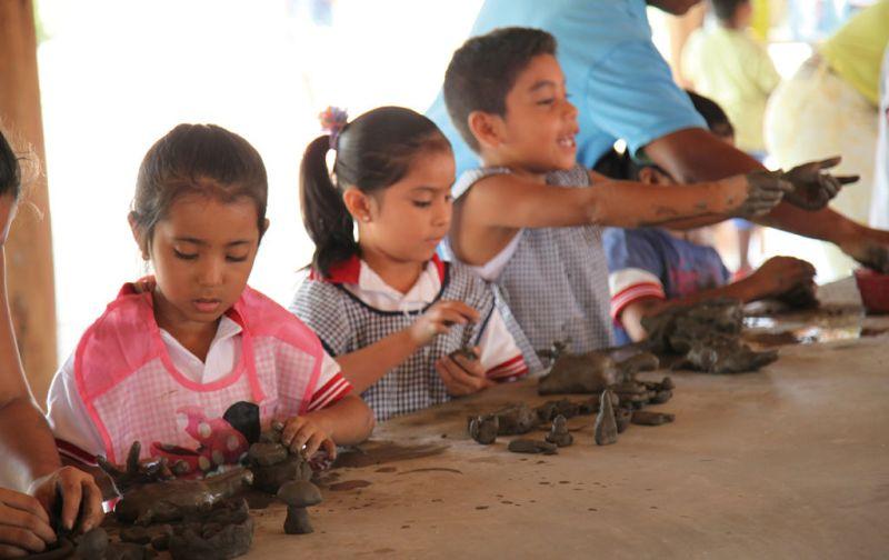 Fundación Casa Wabi - kids