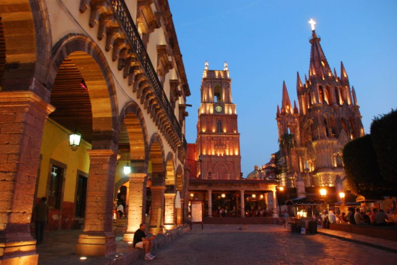 Destinos de México que debes conocer. - san_miguel_de_allende