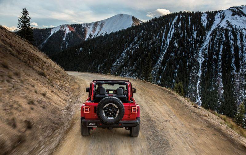 Jeep Wrangler: innovación y tecnología en un vehículo todo terreno. - JEEP-5
