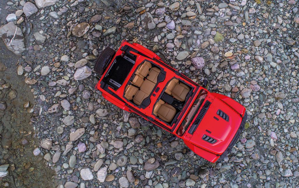 Jeep Wrangler: innovación y tecnología en un vehículo todo terreno. - JEEP-6