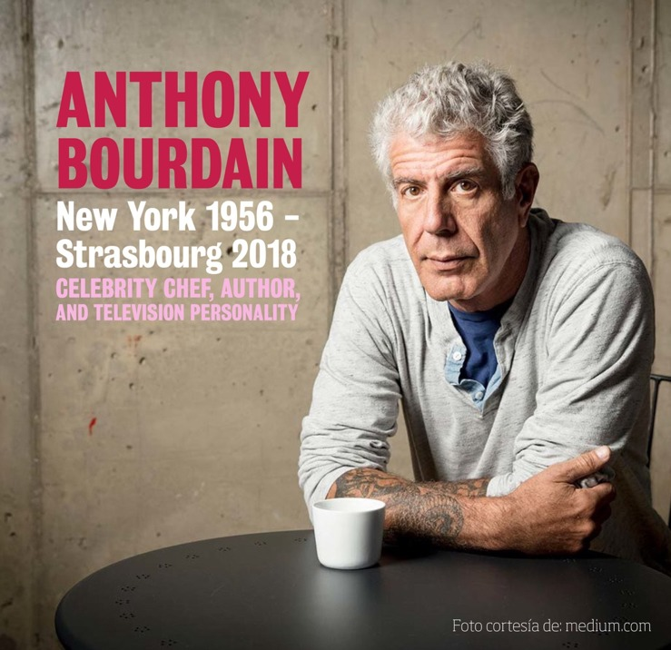 10 datos para conocer la trayectoria de Anthony Bourdain - Anthony Bourdain. 10 datos para conocer la trayectoria de Anthony Bourdain