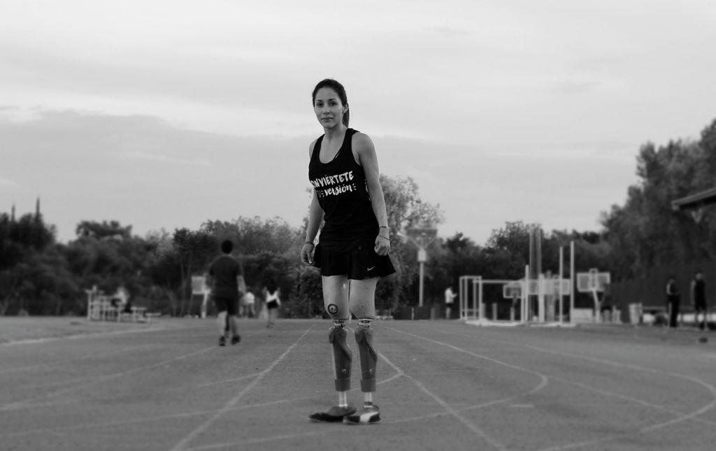 Gaby Ruiz, atleta que traspasa el paradigma de la discapacidad - GABY RUÍZ