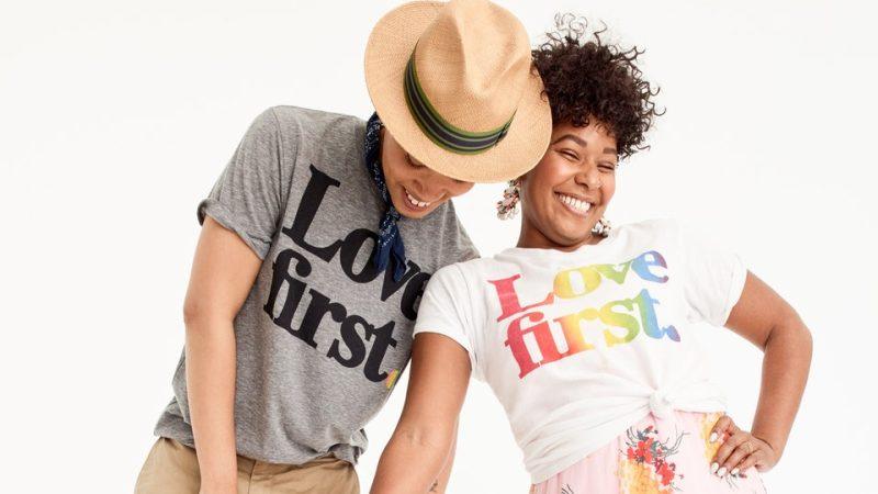 Las 8 marcas de moda que apoyan el Día Internacional del Orgullo 2018 - prideday_jcrew