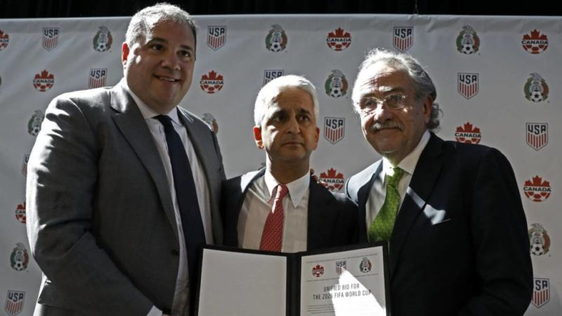 ¡México, Estados Unidos y Canadá serán la sede del Mundial 2026! - united-bid-for-the-2026-fifa-world-cup-mexico-junto-con-estados-unidos-y-canada-seran-la-sede-del-mundial-2026