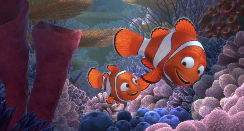 11 fun facts de las películas de Disney - 6-finding-nemo-disney