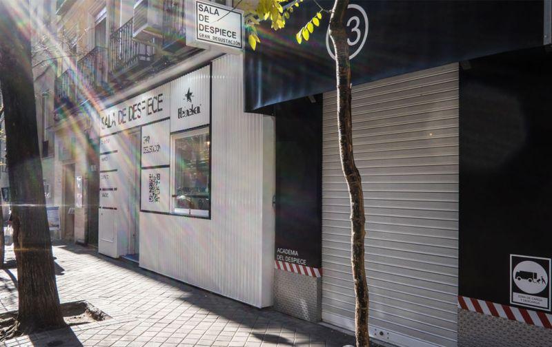 Sala de Despiece, la barra de tapeo más codiciada en Madrid. - exterior-de-sala-de-despiece