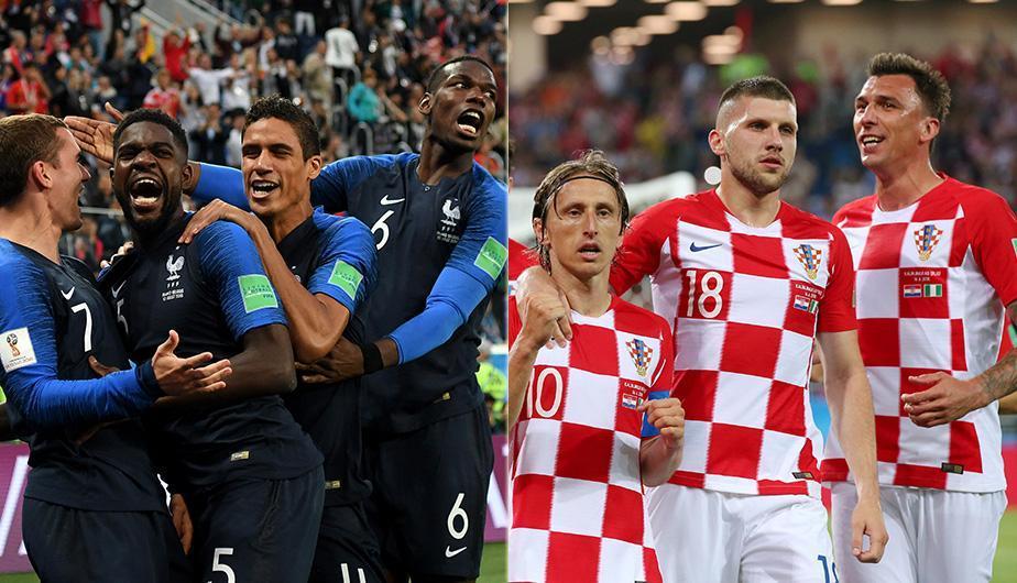¿Quién será el campeón del mundo? - francia-croacia