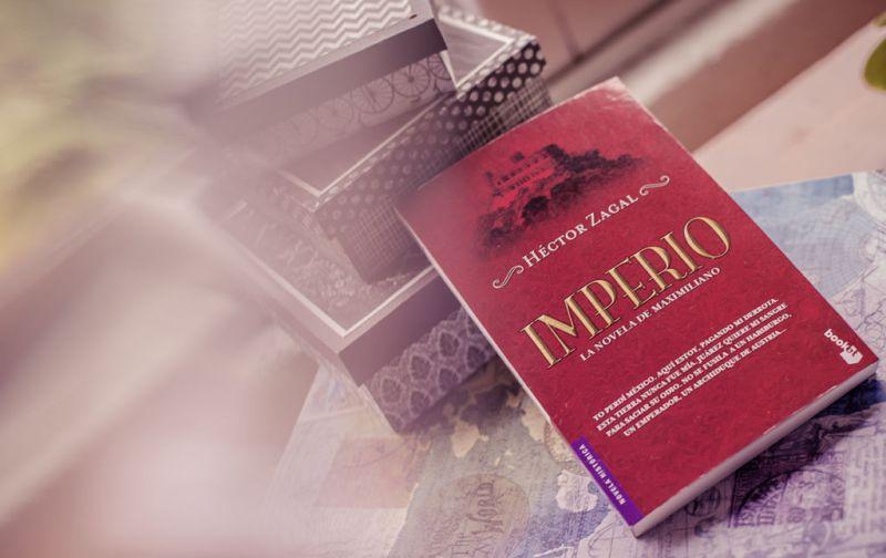Héctor Zagal, gula y cultura de la academia a los anaqueles - libro-imperio-de-hector-zagal