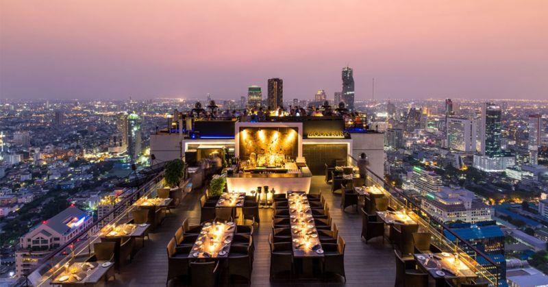 Guía para visitar Bangkok - moon-bar