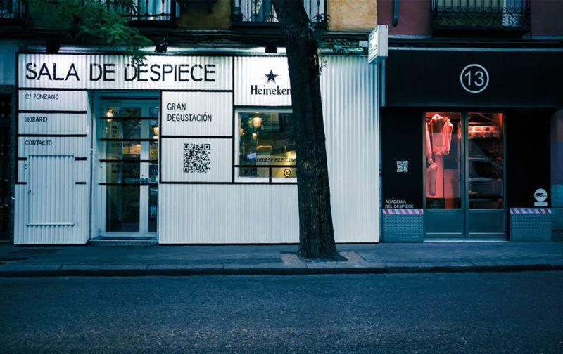 Sala de Despiece, la barra de tapeo más codiciada en Madrid. - sala-de-despiece-exterior
