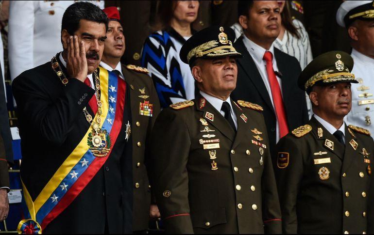 Nicolás Maduro sufre un supuesto atentado en Caracas - Ataque contra Nicolás Maduro