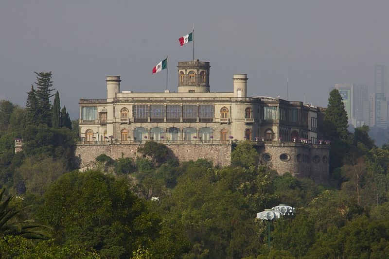 10 fun facts de distintos lugares del mundo - castillo-de-chapultepec-fun-facts-de-ciudades-en-el-mundo