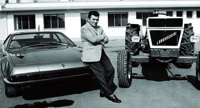 Lamborghini comenzó fabricando tractores - Lamborghini 1 portada