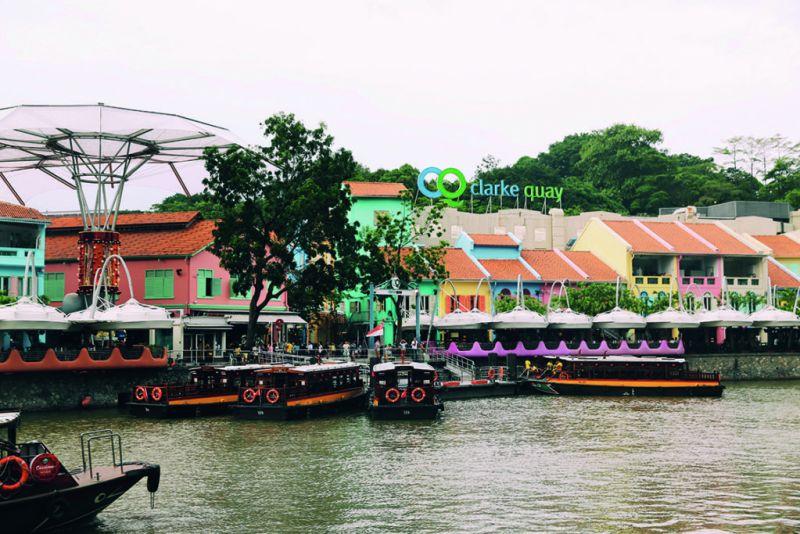 Singapur: un destino único en Asia - marianamanina-clarke-quay