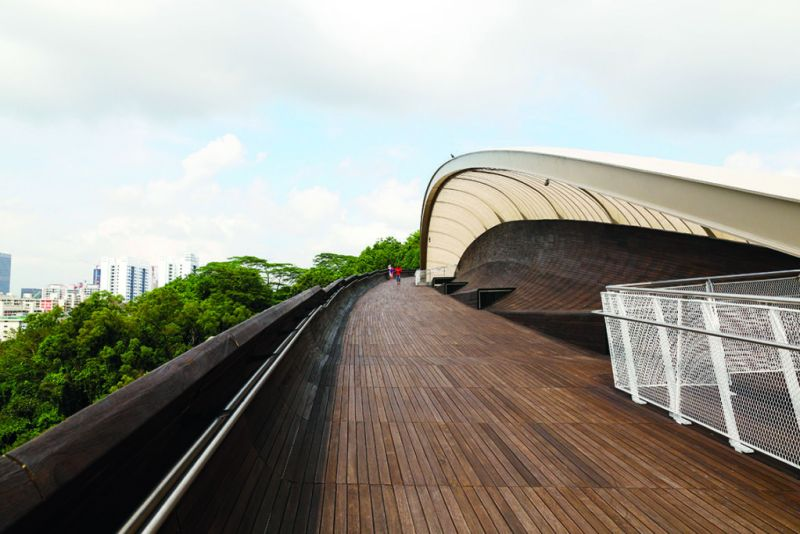 Singapur: un destino único en Asia - marianamanina-river-henderson-waves-bridge