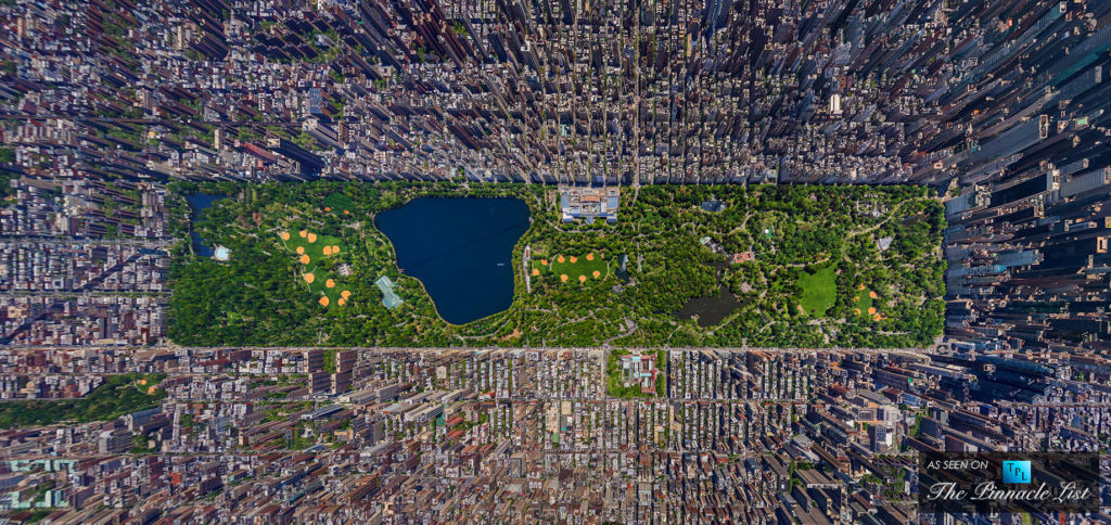 10 fun facts de distintos lugares del mundo - Vista aérea de Manhattan y Central Park. Fun Facts de ciudades en el mundo