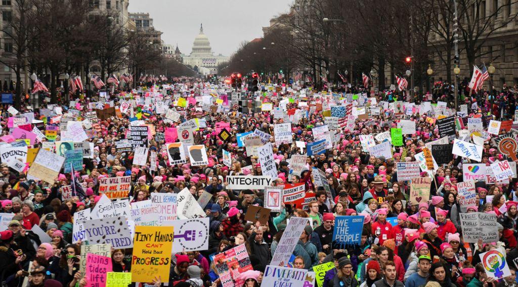 Los movimientos que han surgido en las redes sociales - women's march portada