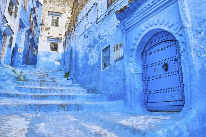 5 destinos del mundo que probablemente no conocías - destinos-en-el-mundo-que-probablemente-no-conocias-chefchaouen-marruecos