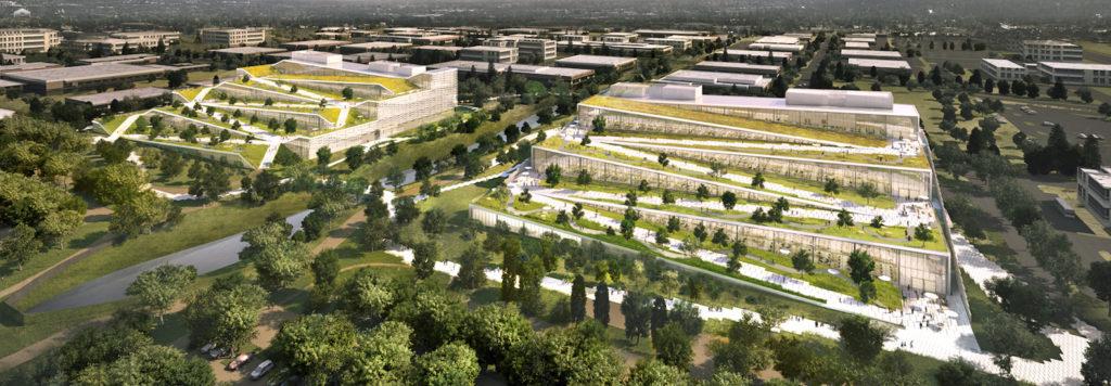 Las innovadoras oficinas de Google en Sunnyvale, California - Google Sunnyvale Campus Portada