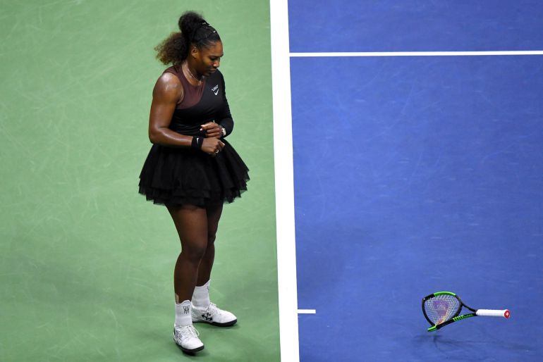 Naomi Osaka y Novak Djokovic, ganadores del US Open 2018 - Naomi Osaka y Novak Djokovic, ganadores del US Open 2018. Serena rompe su raqueta en el US Open