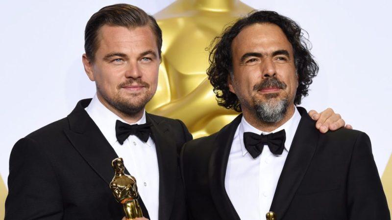 Nuestras películas favoritas de Leonardo DiCaprio - nuestras-peliculas-favoritas-de-leonardo-dicaprio-dicaprio-e-incc83arritu-reciben-oscar-por-the-revenant