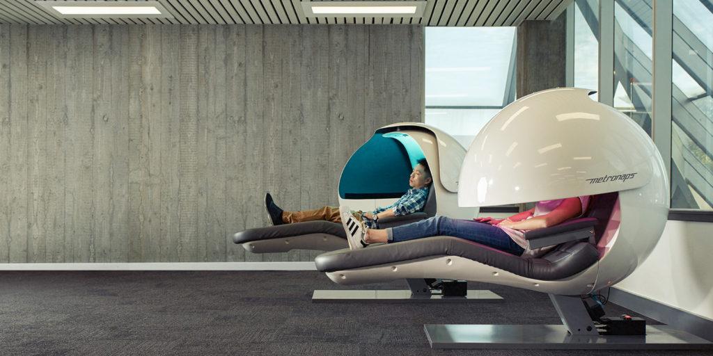 NASA, Google y Samsung están incorporando sleep pods a sus oficinas - sleep pods portada