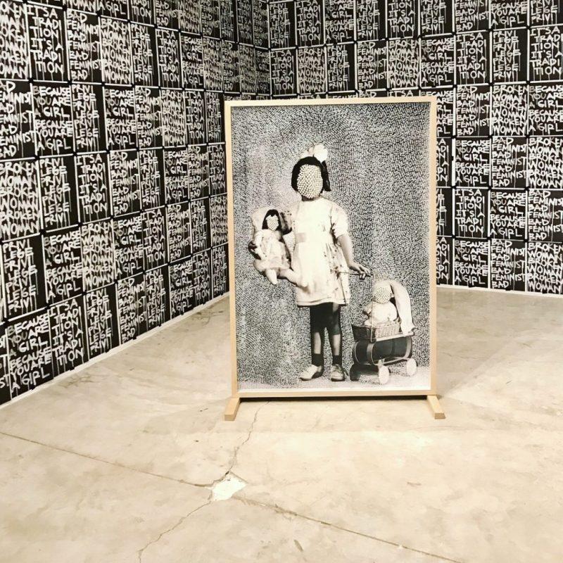 Las implicaciones de haber nacido mujer - because-you-are-a-girl-galeria-de-arte-moderno-2