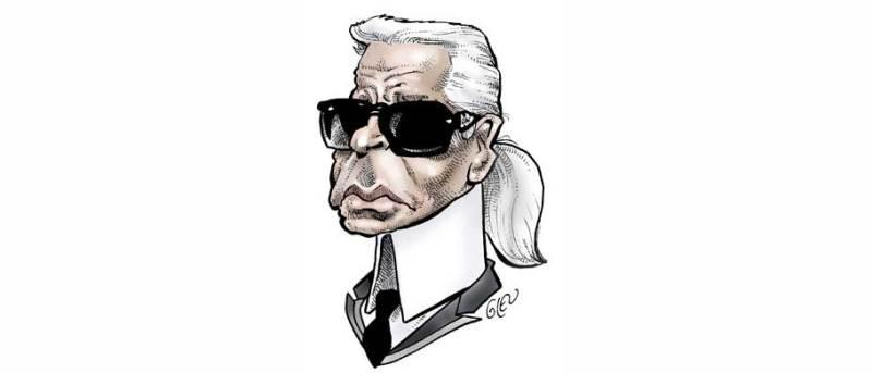 10 datos que no sabías sobre Karl Lagerfeld - karllagerfeld_caricatura