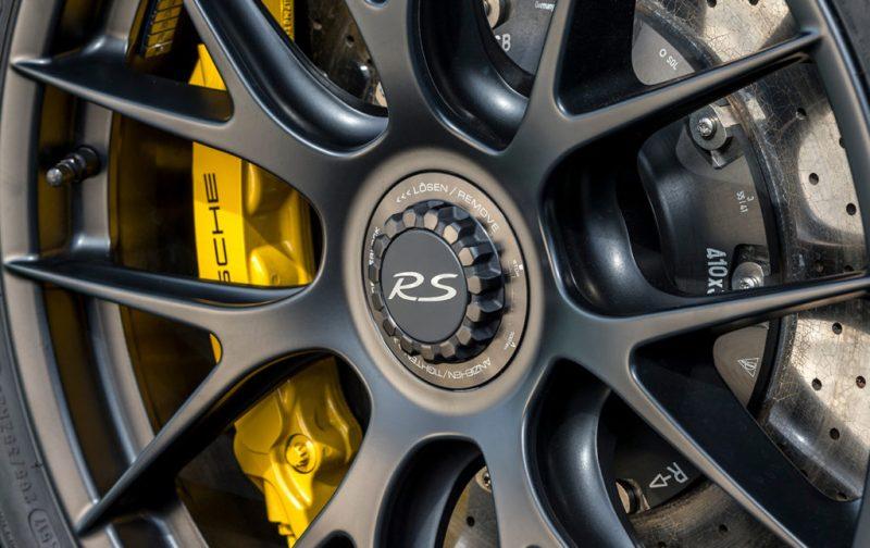 El Porsche 911 GT3 RS, una referencia para los automóviles deportivos - llanta-porsche-auto-deportivo