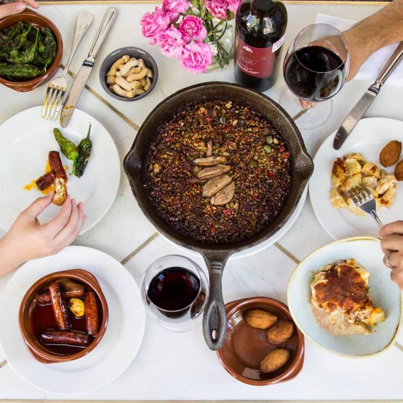 Los mejores lugares para comer paella en la CDMX - paella-la-barra-de-fran