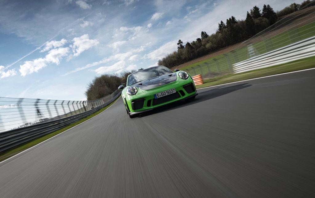 El Porsche 911 GT3 RS, una referencia para los automóviles deportivos - portada porsche auto deportivo carreras