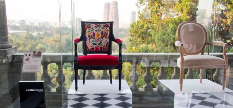 Roche Bobois apuesta por el diseño local - sillas-de-roche-bobois-intervenidas-por-artesanos-mexicanos