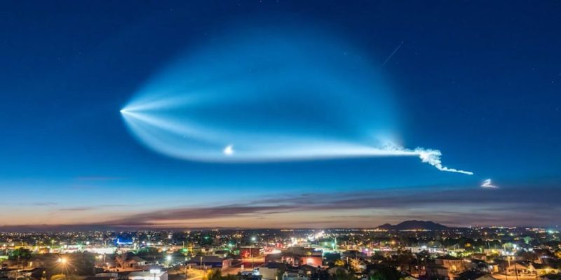 El cohete Falcon 9 de SpaceX aterrizó de forma exitosa en la costa de California - space-x-falcon-4