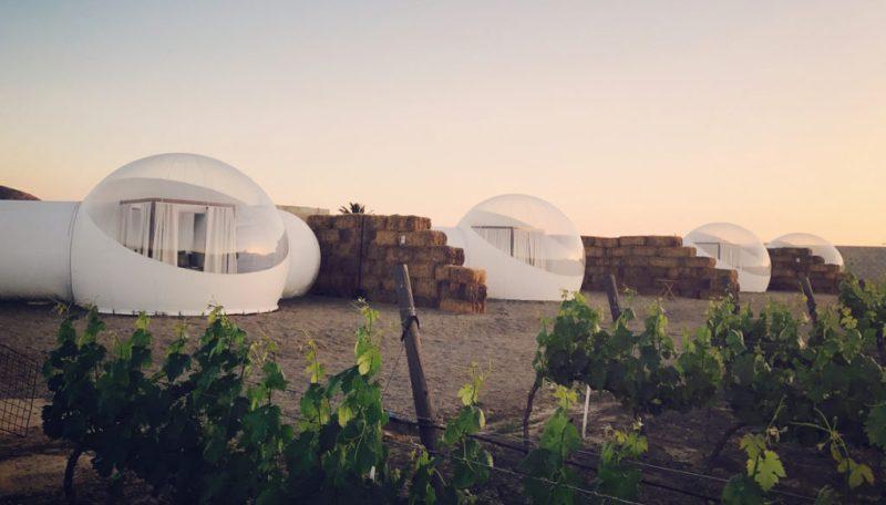 Bubble hotels que tienes que conocer - campera-hotel-burbuja-mexico