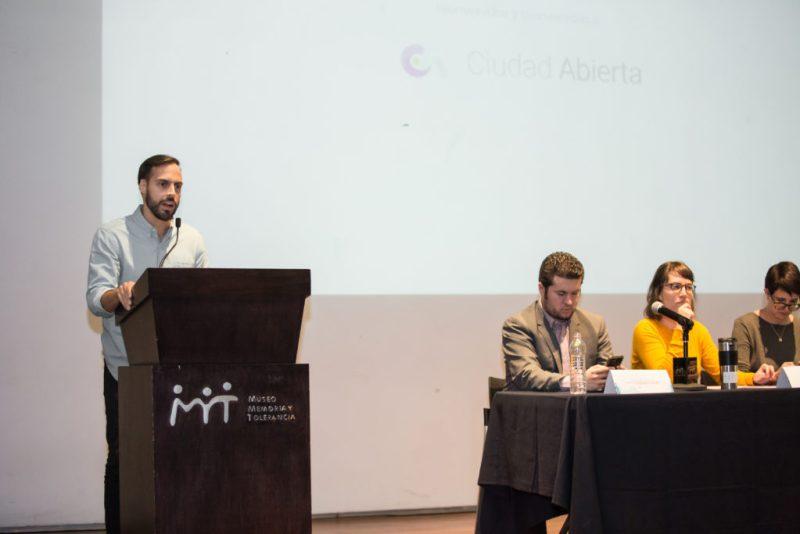 Ciudad Abierta, la primera plataforma de inclusión en la CDMX - carlos-verastegui_conferenciaciudadabierta_019_alecarbajal