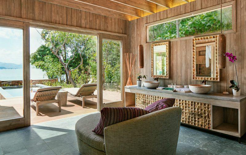 An Lam Retreats, tu luna de miel en Vietnam - cuarto-interior-villa-resort-vietnam-madera-naturaleza