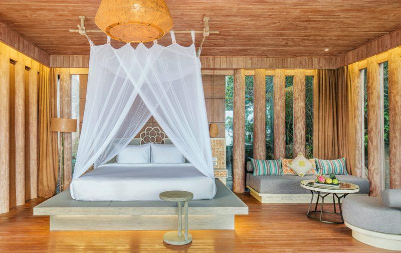 An Lam Retreats, tu luna de miel en Vietnam - cuarto-naturaleza-madera-abierto-retiro