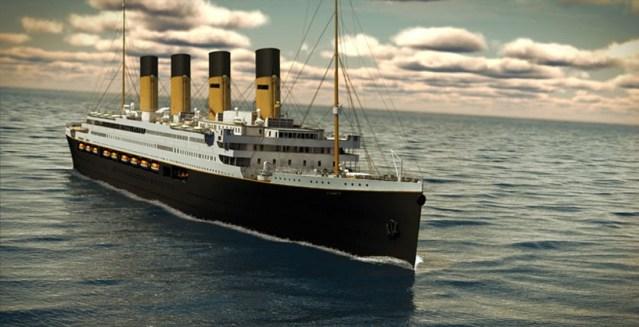 El Titanic II realizará su primer viaje en el 2022 - El Titanic II realizará su primer viaje en el 2022 portada