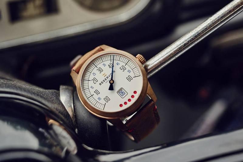 Reservoir, una marca de alta relojería como ninguna otra - reservoir-tiefenmesser-bronze